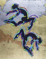 Four Dance Paintings
