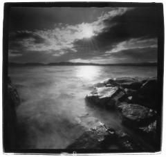 Hudson River Pinhole Black & White